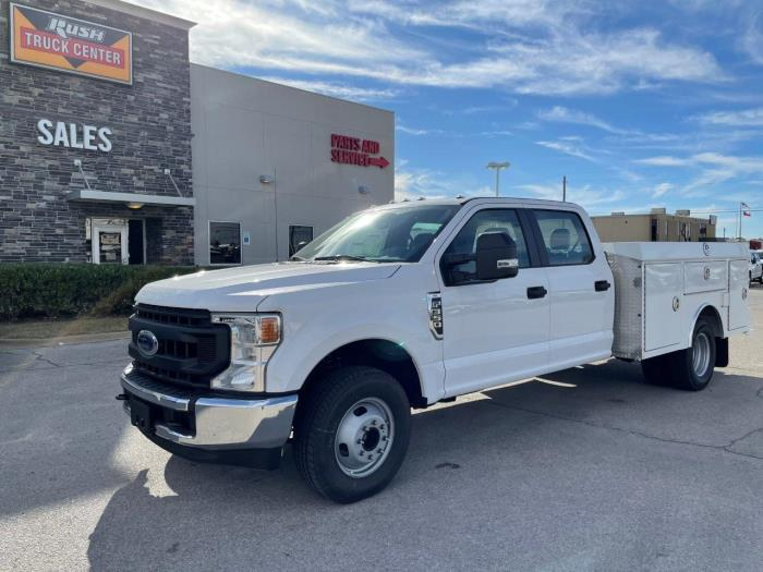 2020 Ford F-350 Crew Cab DRW 4x2, RhinoPro Truck Outfitters Service Body #1240997 - photo 1