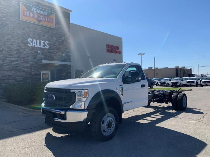 2021 Ford F-550 Regular Cab DRW 4x2, Cab Chassis #1295854 - photo 1