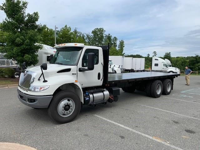 2019 International MV607 - Godwin Manufacturing Co. FlatBed