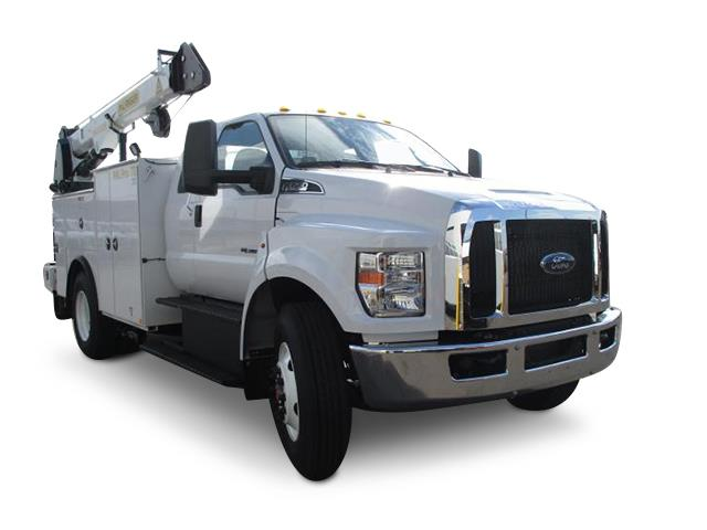 2019 Ford F-750 - Palfinger Mechanics