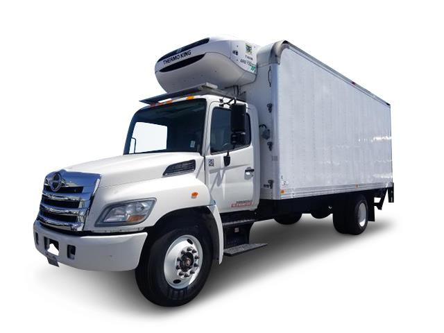 2012 Hino 268A - Complete Refrigerated