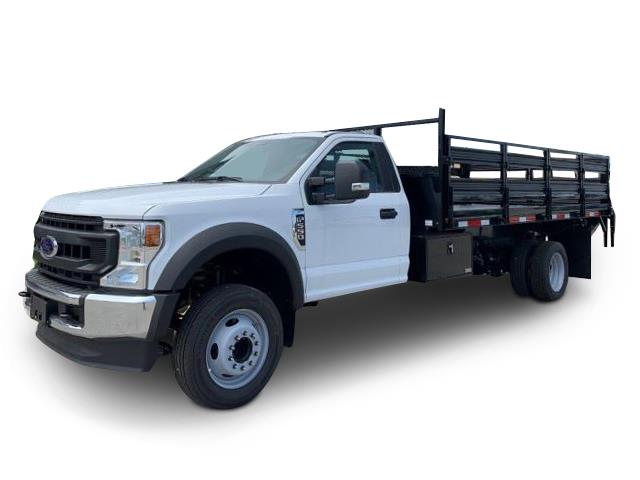 2020 Ford F-550 Regular Cab DRW 4x2, Knapheide Stake Bed #1156816 - photo 1